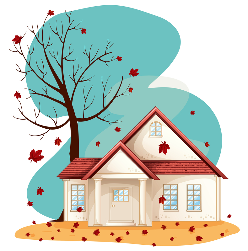 Fall new house dreamstime_s_25116675